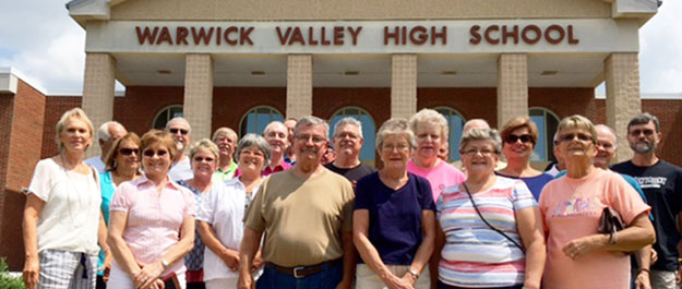 WVHS Class of 1966 holds its 50th class reunion in 2016