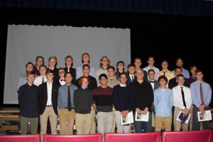 Picture of the boys soccer team.