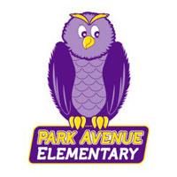 Clip art illustration of Park Avenue Elementary School owl mascot
