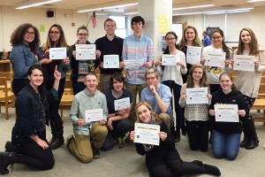 WVHS Science Research students complete Hour of Code