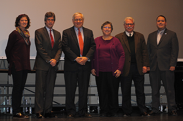 Photo of Lynn Lillian, Barry Lewis, Tim Kremer, Susan Lerner, Bob Lowry and Sparrow Tobin