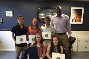 WVHS students receive State Senate Leadership Award