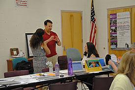 discussing curriculum enhancement
