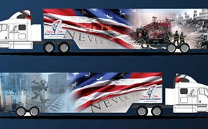 """9/11 Never Forget"" mobile exhibit comes to WVHS on Sept. 28 & 29"