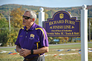 Coach Richard Furst's long career honored