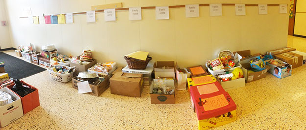 MS Thanksgiving basket donations