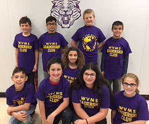 WVMS Leadership Club 2016-17