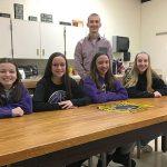 WVMS Green Team refurbishes wood table