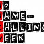 No Name-Calling Week is Jan. 17-20