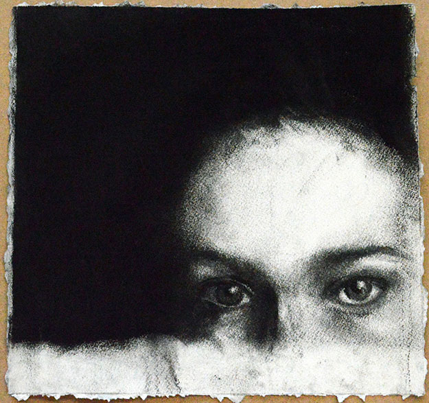 charcoal drawing by Julia K.