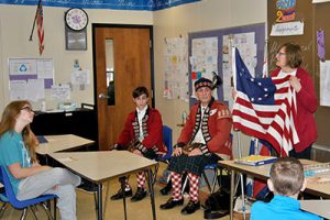 The American Revolution comes to life in the classroom