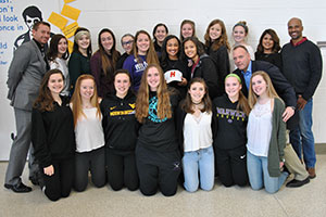 WVHS girls soccer teammates