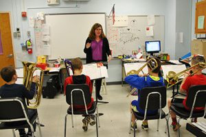 Elementary band teacher awarded mini-grant