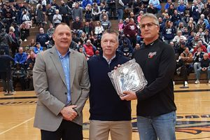 Warwick boys basketball coach recognized
