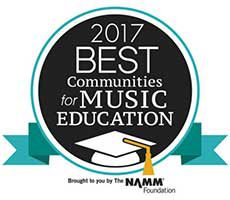"WVCSD recognized as a ""Best Community for Music Education"" for fifth consecutive year"