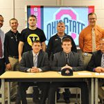 WVHS three-sport standout Ryan Ferro signs National Letter of Intent to attend Ohio State Univ.