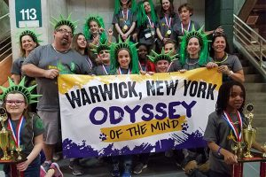 BOTH WVCSD Odyssey of the Mind teams come in FIRST PLACE at World Finals