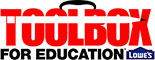 Logo-Lowe's Toolbox for Education