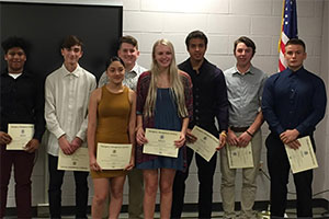students with FEMA certificates