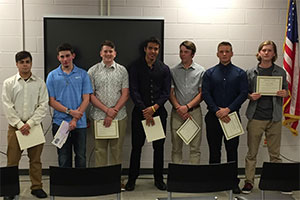 7 recipients of the Character Award