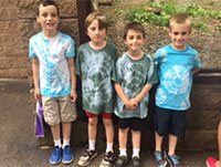 students at the Turtleback Zoo