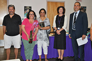 District presents award to dedicated PTA volunteer