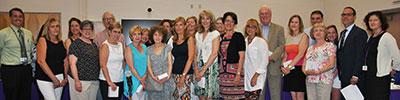 WVCSD retirees 2017 recognized