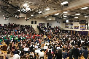 Nearly 400 students participate in 19th annual WVCSD String Fling