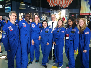 teacher team with NASA scientist