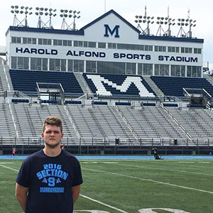 Bendan Egan to play football at Maine 2017