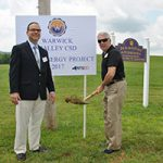 Work begins on WVCSD solar power project