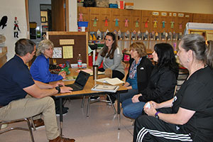 Teachers at WVCSD Superintendent's Conference Day