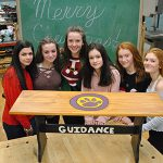 WVMS Green Team presents gift to Guidance Office