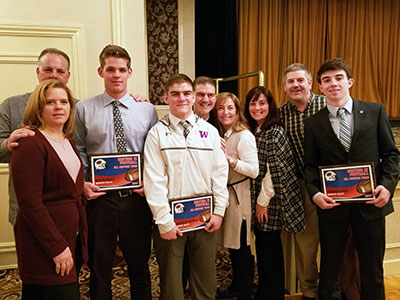 WVHS football players honored at banquet