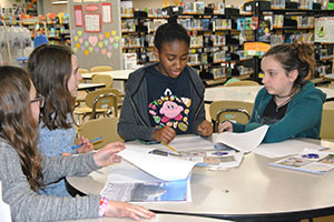 WVMS literary introduces its new literary magazine