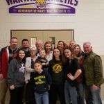 """Mary """"Mai"""" Mezzetti, loyal Wildcats supporter, remembered with gift to high school gym"""