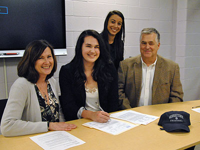 WVHS student-athlete, Hannah Hamling will play volleyball at Georgetown University
