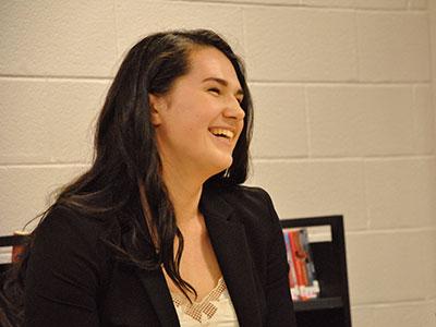 WVHS student-athlete, Hannah Hamling