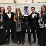 First place honors for High School bands at music festival