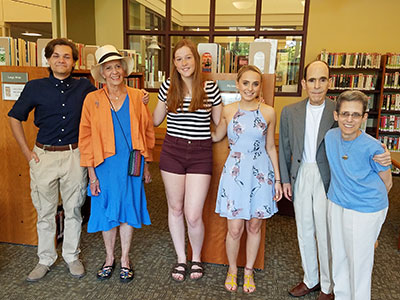 WVHS winners of the AWPL Foundation College Scholarships '18