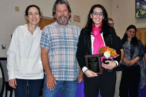 District presents award to dedicated PTA volunteer '18