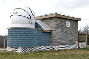 The Little Bear Observatory building.