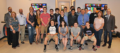 WVHS Video Production & Communications students create commercials for local businesses