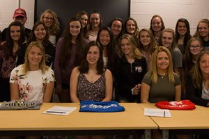 Three WVHS seniors sign letters of intent
