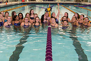 WVHS pool renovation - ribbon cutting ceremony