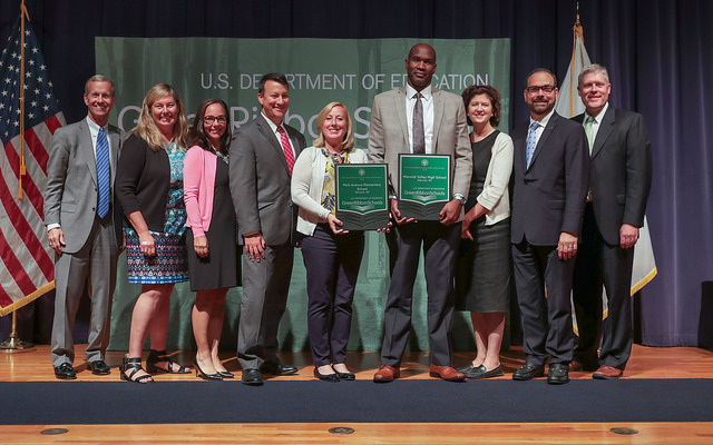 WVCSD Park Ave. Elem. & WV High School were awarded Green Ribbon Schools Awards 2018