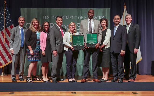 WVCSD Park Ave. Elem. & WV High School were awarded Green Ribbon Schools Awards 2018