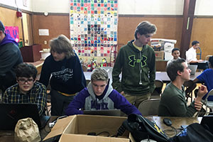 "WVHS ""First Tech Robotics"" team participates in regional workshop"