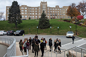 Senior Project class visits Mount St. Mary College