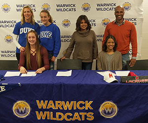 WVHS student-athetes & parents - letters of intent for college
